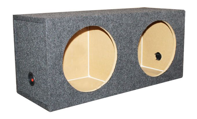 Q Power 15-Inch Dual Sealed Subwoofer Box Enclosure VM15SEALED,    #Q Power 8-Inch Subwoofers