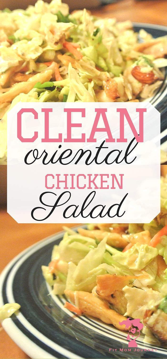 Healthy oriental chicken salad recipe