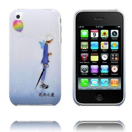 Cartoon Deksels (Blå Mann) iPhone Deksel for 3G3GS