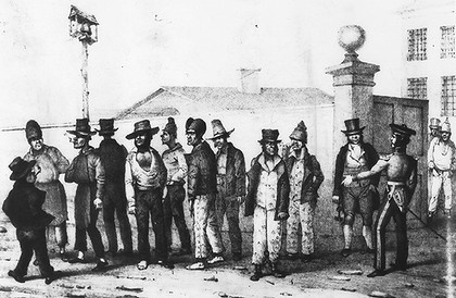 Australian Settlers and Convicts