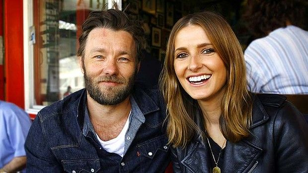 Joel Edgerton (with a journalist in Sydney)