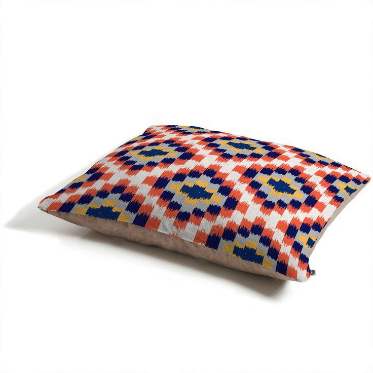Andrea Victoria Tribu Diamonds Pet Bed   DENY Designs Home Accessories