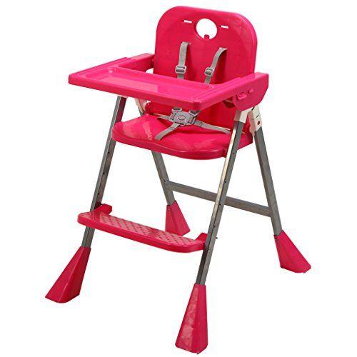 Silla infantil multifunción bebé Silla de bebé plegable Comedor sillas para comer al bebé ( Color : Pink )  #carricochesbebe