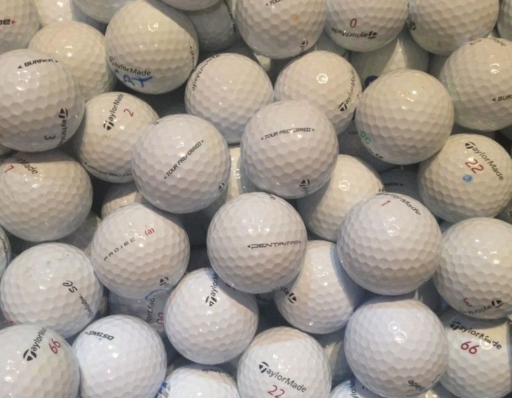 165 Taylormade Assorted Golf Balls Used AAAAA