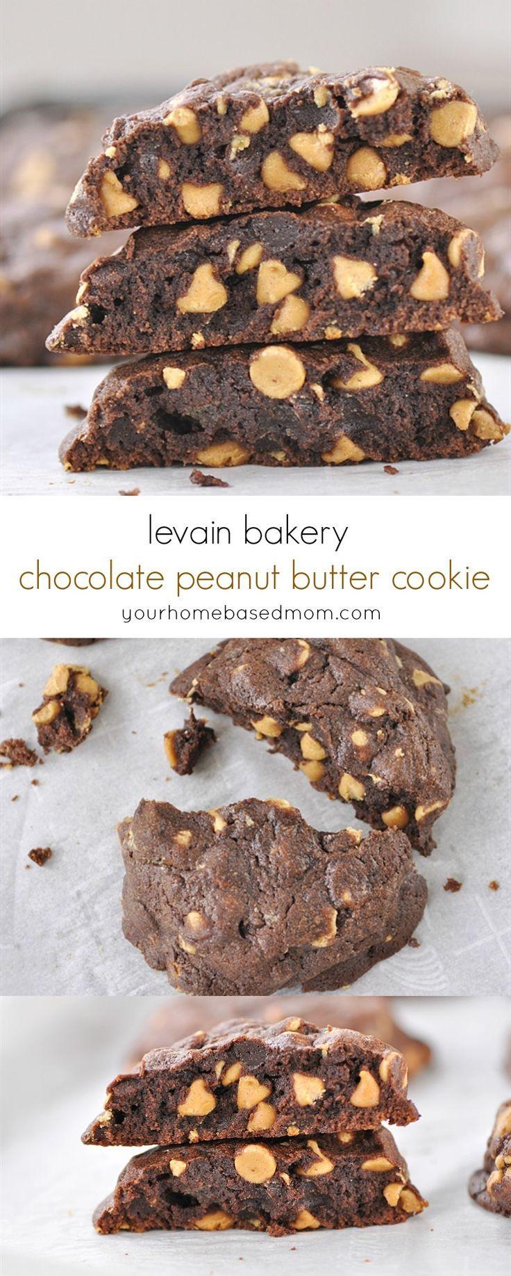 Levain Bakery Chocolate Peanut Butter Cookie