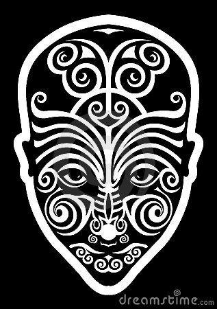 Tatouage maori de visage