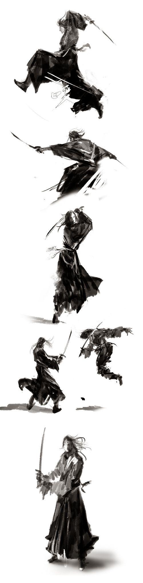 Samurai attack