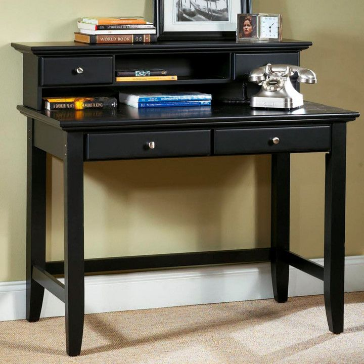 Small Black Desk With Drawers Desk Wall Art Ideas Desks For Small Spaces Home Styles Student Desks
