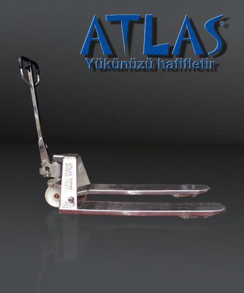 Paslanmaz transpalet gıda ve sağlık sektörü için özel tasarlanmış inox transpalettir. ATTPP 2.5 inox. http://www.ozkardeslermakina.com/urun/atlas-inox-paslanmaz-transpalet-2500-kilo-tasima-kapasite/ #atlas #inox #paslanmaz #çelik #transpalet