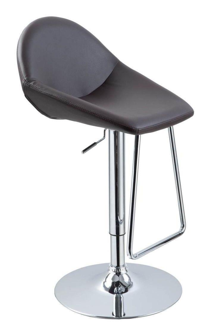 Vig Furniture - T1138 - Eco-Leather Contemporary Bar Stool - VGCBT1138-BRN