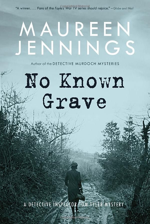 No Known Grave: Maureen Jennings: 9780771043291: Books - Amazon.ca