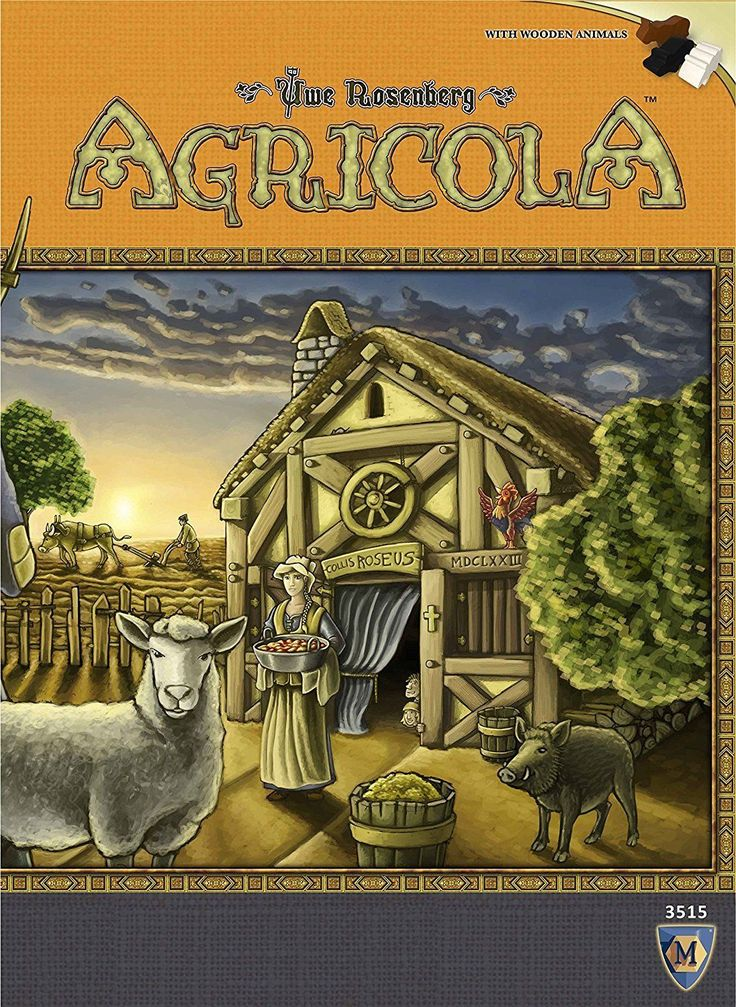 Agricola Board Game Revised Edition (Mayfair Games) Factory Sealed M3515