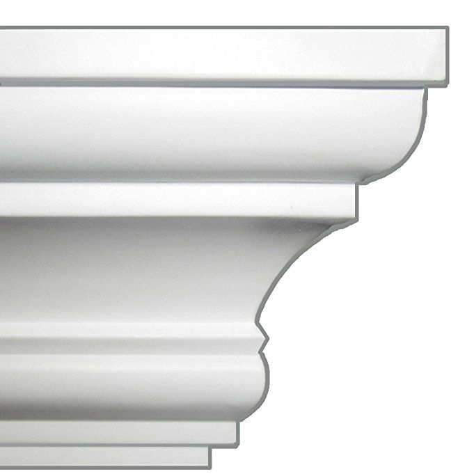 Easy Crown Molding Peel And Stick Crown Molding 4 Inch Easy Crown Molding Crown Molding Cornice Design