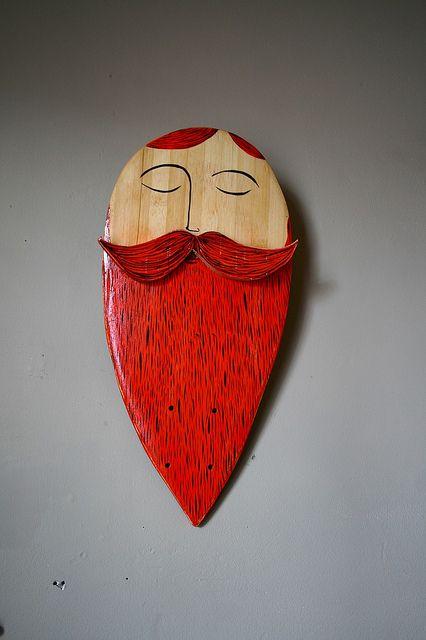 Red beard.