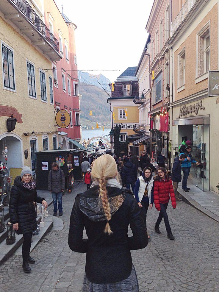 Downtown Gmunden, Austria