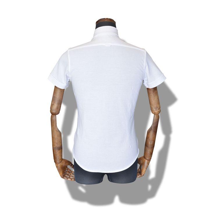 decollo shirts SS - white 360° stretch #mens #ladys #fashion #shirts #business #travel #pilot #italy #suits #narrowtie #style #white #monochrome #black #decollo #model #tokyo #shop #success #pinterest #decollouomo #cruise