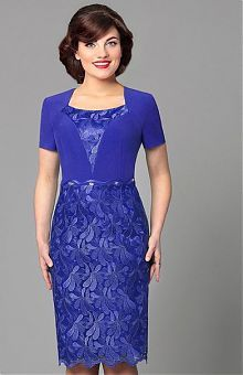 Купить платье синего, голубого, василькового и небесного цвета в…
