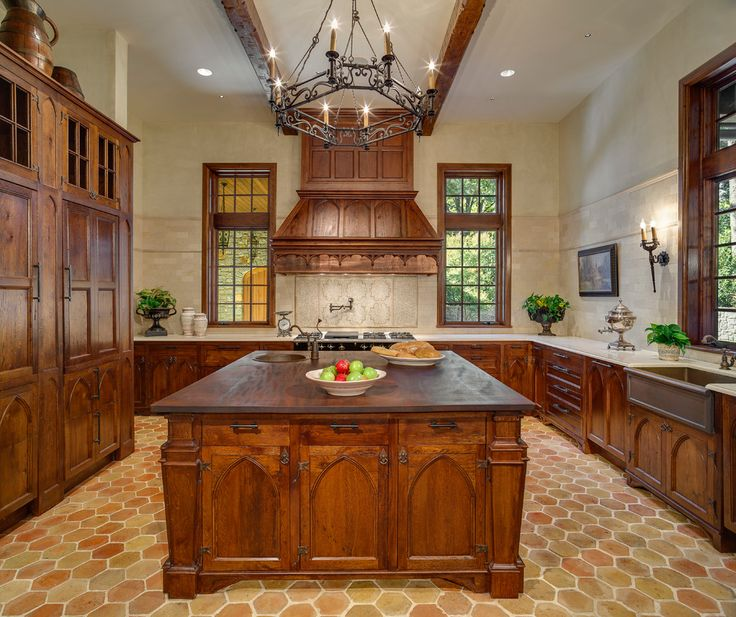 69 best images about castle kitchen on pinterest kitchen for Tudor kitchen design
