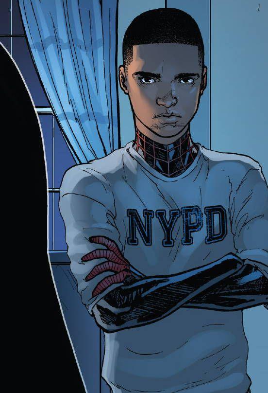 superheroesincolor:  Miles Morales: Ultimate Spider-Man #6 (2014)Story: Brian Michael Bendis, art: David Marquez