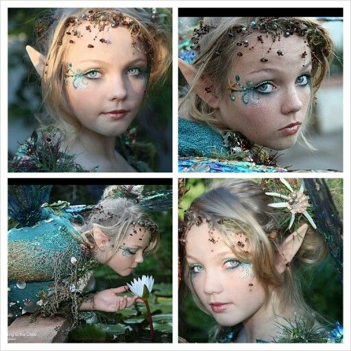 Different views of the water fairy