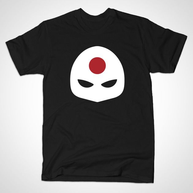 Katana Mask by MINIMALISTHEROES - #Katana #DCcomics #TShirt #TeePublic #Shirt #Comics #ComicBooks