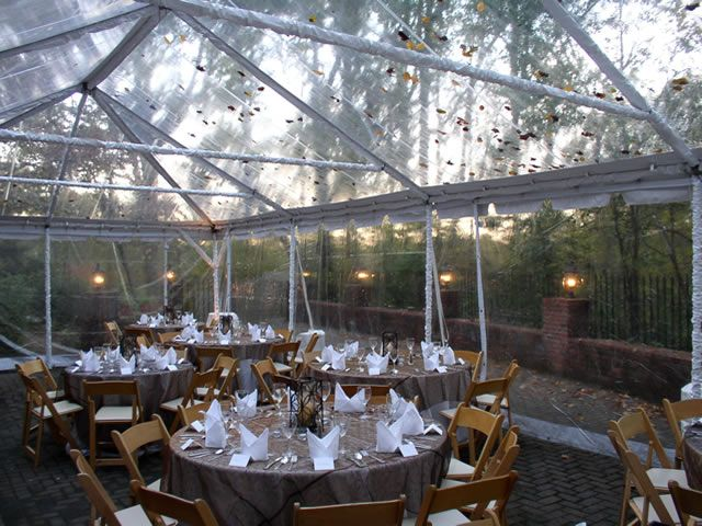 Another look at the clear top tent style weu0027ll have at our reception & 32 best Transparent tent images on Pinterest | Wedding inspiration ...