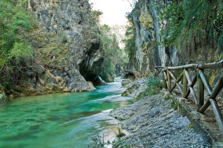 Ruta del río Borosa en Elías