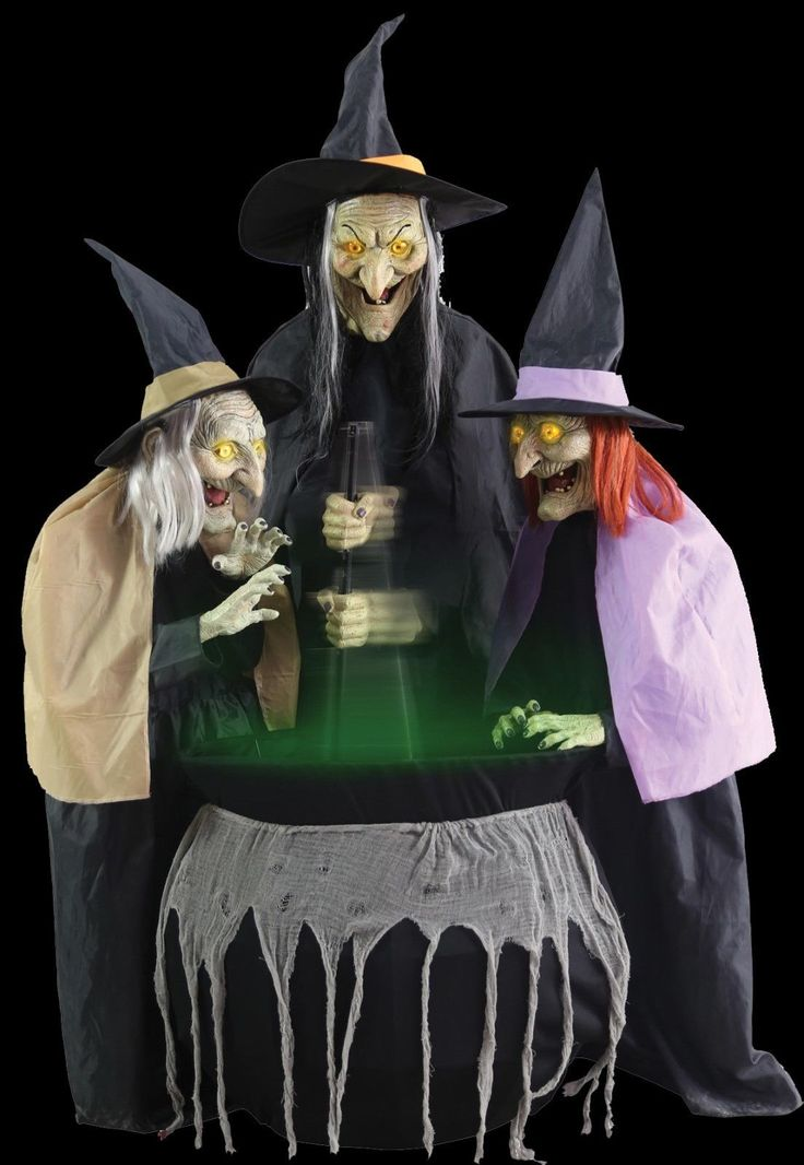 #Stitch #witch #sisters Animated Halloween Prop, View More