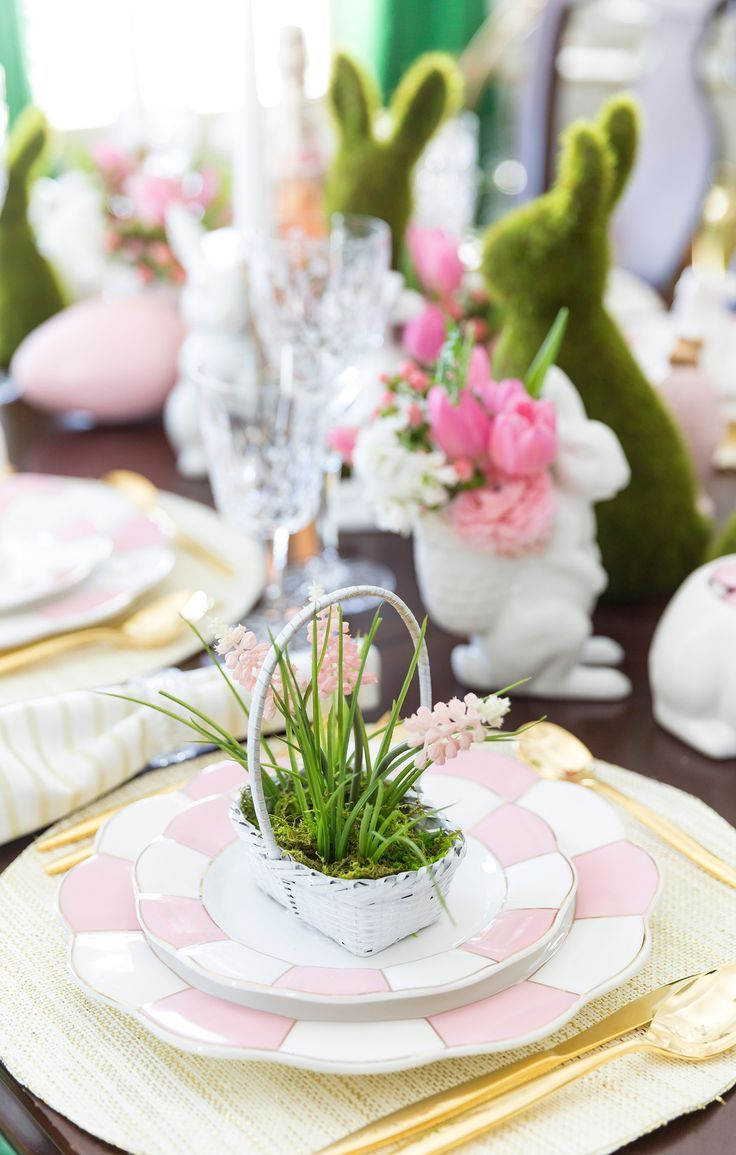 Easter Tablescape Inspiration u0026 Styling Tips 243