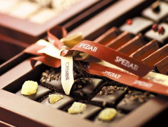 #GUIDOCASTAGNA #cioccolato Cremini Guido Castagna le praline classiche o speziate