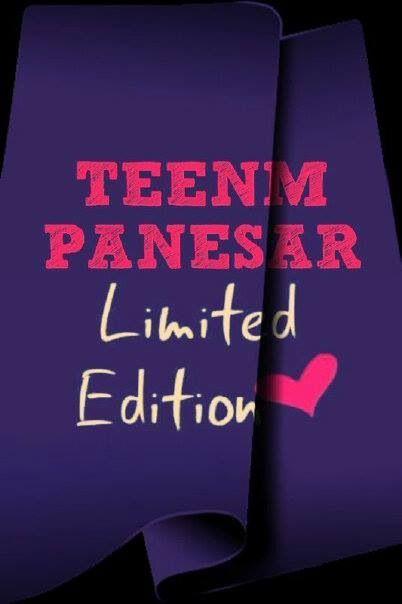 Teenm Panesar Limited Edition