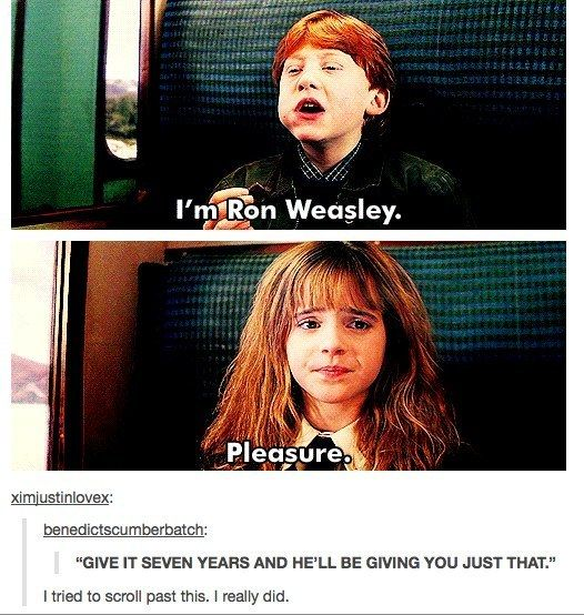 "When they found this bit of foreshadowing. | 26 Times Tumblr Had Serious Questions About ""Harry Potter"""