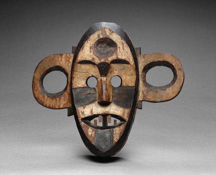 Boa Democratic Republic of the Congo Mask, Late 19th/early 20th century