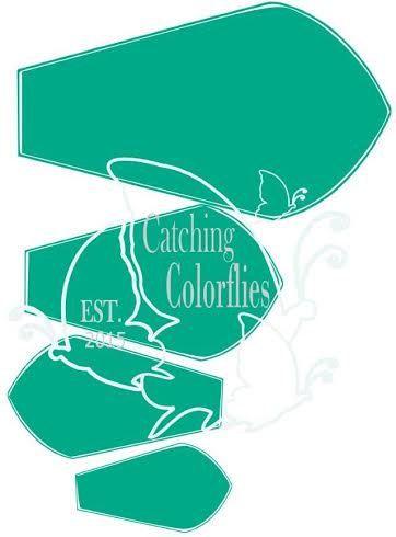 Fai da te decorazione di cerimonia nuziale di CatchingColorFlies