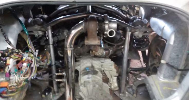 Twin engine MK4 Jetta VR6 W8 turbo