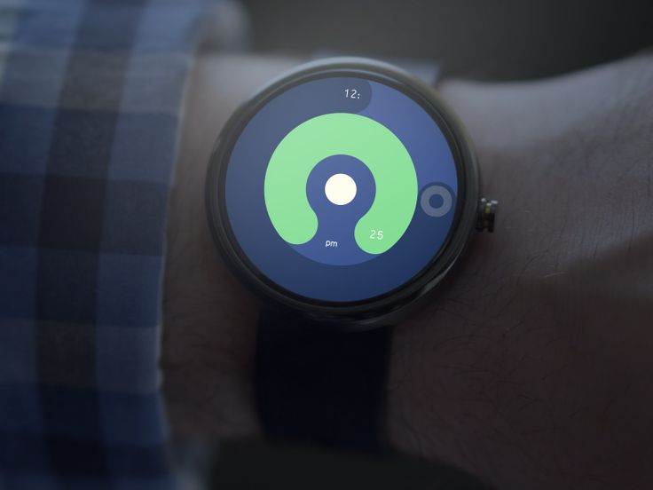 Color Android Watch by Bryan Moreno