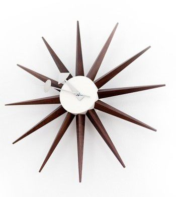 1000 ideas about sunburst clock on pinterest wall clocks george nelson and clocks. Black Bedroom Furniture Sets. Home Design Ideas