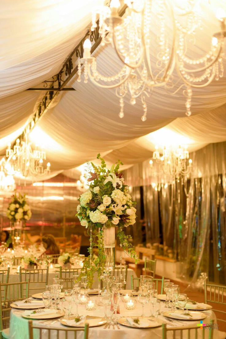 Elegant center pieces ... Wedding