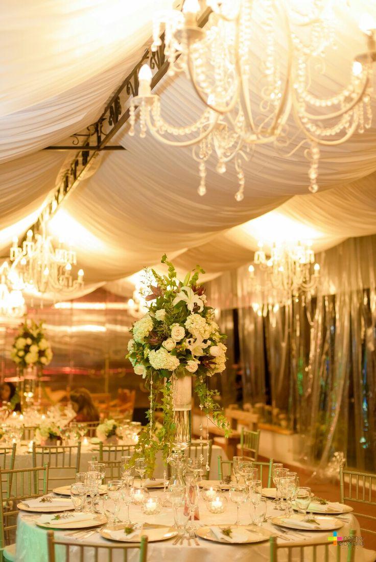 Elegant center pieces ... Wedding