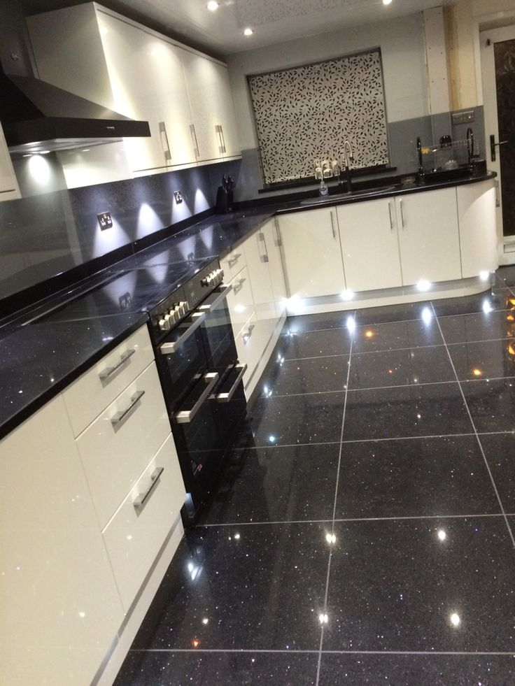 Sparkle Kitchen Floor Tiles Flooring Ideas And Inspiration