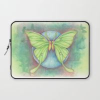 Luna Moths Laptop Sleeve