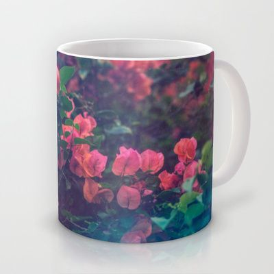 Flower Falls. Mug by Sarah Zanon - $15.00