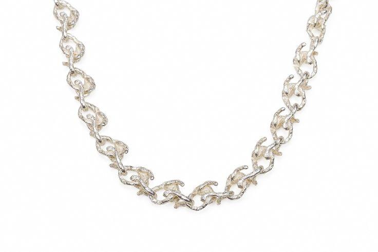 Sterling Silver Vine Link Chain