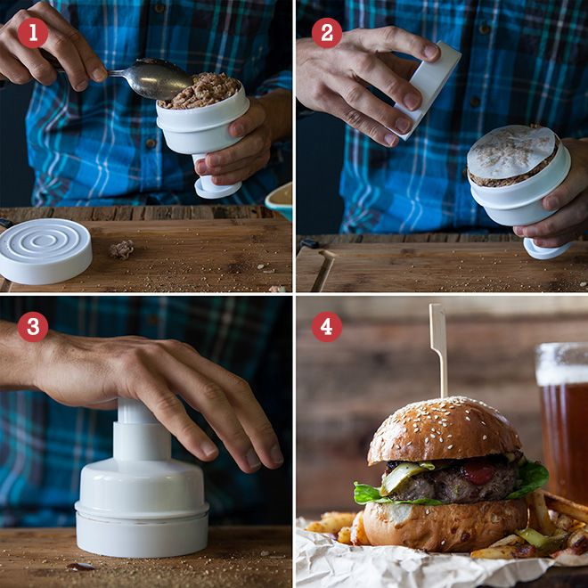 How to us the Kitchen Craft Burger Maker.