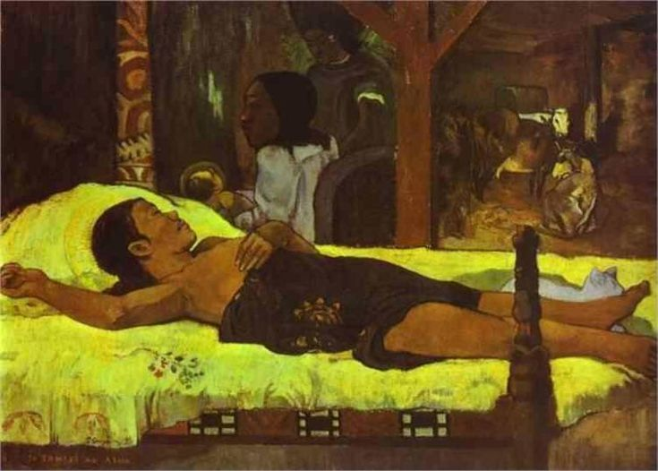 Nativity, 1896 by Paul Gauguin