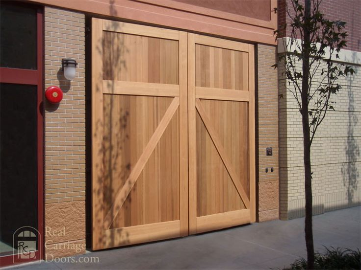 Real Carriage Doors Closeup Backyard Ideas Pinterest
