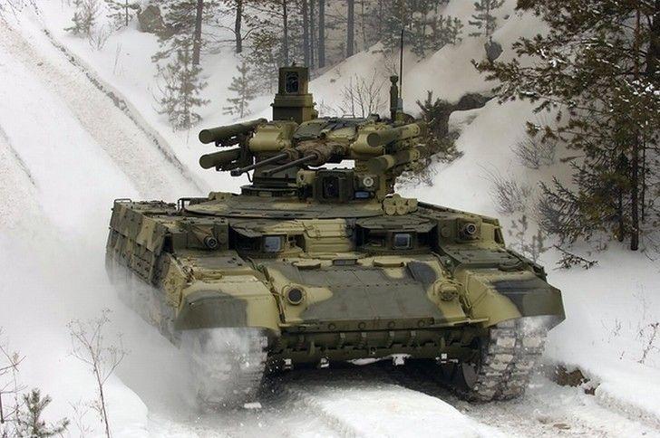 "Russian BMPT ""Terminator"""