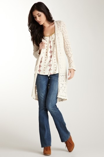 Lucky Brand Open Stitch Duster on HauteLook. Love this entire outfit!