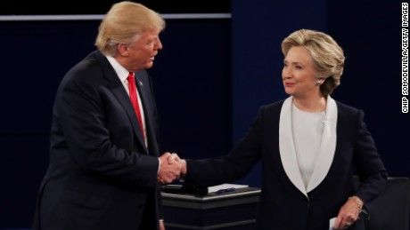 Clinton wins debate...... (Yeah, right! Just like CNN host had to prep the people for answers).. but Trump exceeds expectations - CNNPolitics.com