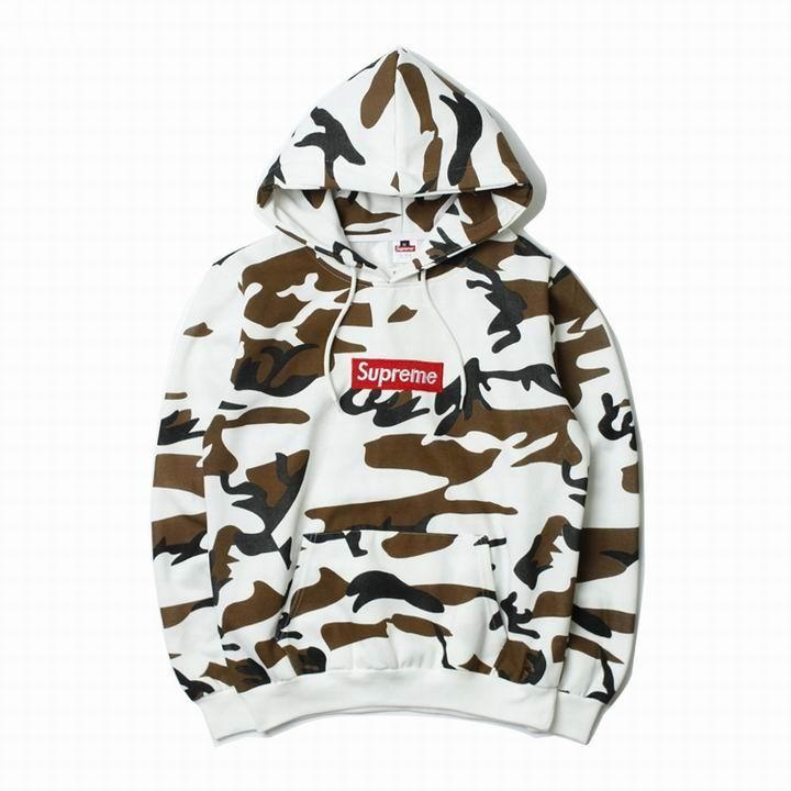 19ed10f89a36 Supreme Pullover Cow Camo Fleece Hooded Sweatshirt